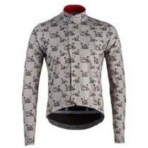 Café Du Cycliste Men's Charlotte Cats & Dogs Soft Shell Rain Jacket